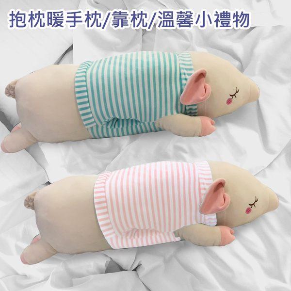暖手豬可愛兩用枕