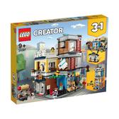 LEGO樂高 創意百變系列 31097 寵物店和咖啡廳排樓 積木 玩具