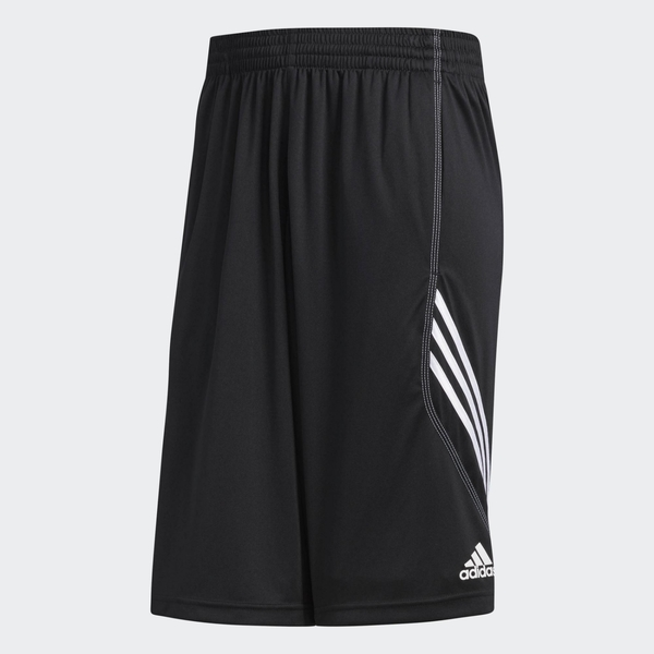 Adidas男款黑色簡約運動短褲-NO.AC2525