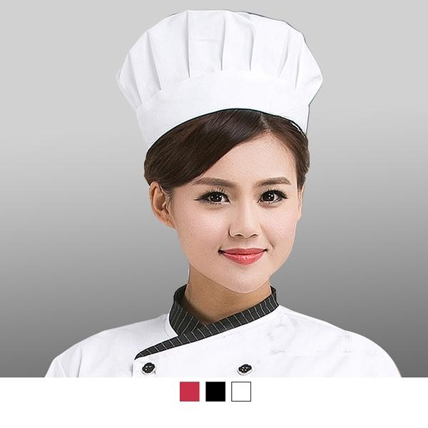 晶輝專業團體制服CH132*酒店廚師帽子廚房用品蛋糕店食品防塵衛生白布帽子男女廚師工作帽
