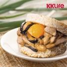 【KKLife】粽香滷肉米膳堡 (177±10g/顆;3顆/盒)