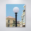 76mm套管 三英吋 戶外庭園燈 8吋單燈防水型 可客製化 可搭配LED