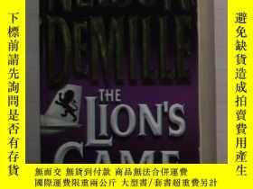 二手書博民逛書店英文原版罕見The Lion s Game by Nelson