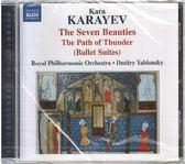 【正版全新CD清倉  4.5折】卡拉耶夫:'七美人','雷霆之路'芭蕾組曲