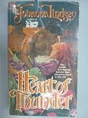 【書寶二手書T4/原文小說_CBY】Heart of Thunder_Johanna Lindsey