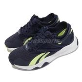 Reebok 訓練鞋 Hiit TR 藍 黃 深蹲 波比跳 專業款 女鞋 運動鞋 健身專用 【ACS】 GX5162