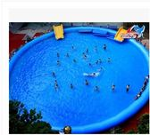 充氣水池成人協誠超值戶外大型支架游泳池加厚滾筒球碰碰船海洋球igo  莉卡嚴選