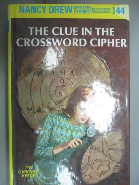 【書寶二手書T2/原文小說_GTE】The Clue in the Crossword Cipher_Keene, Ca