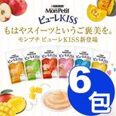 【寵物王國】MonPetit貓倍麗-Puree Kiss小鮮肉泥(10gx4包)系列 x6包組