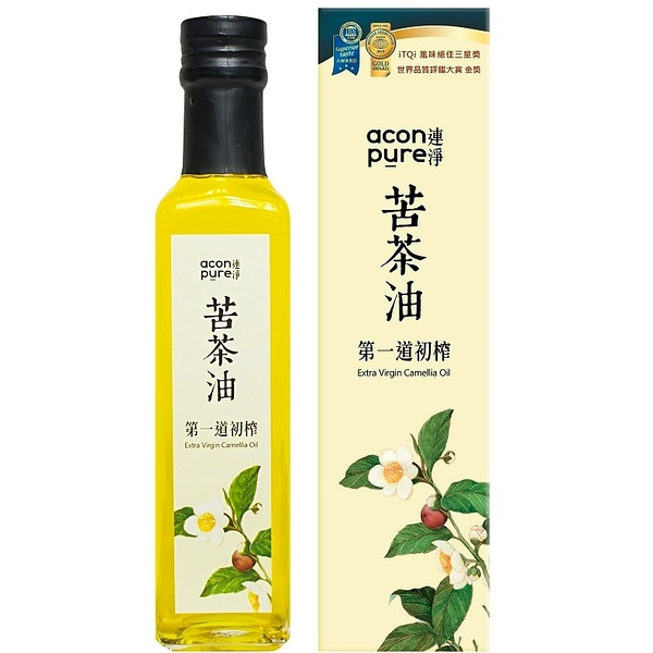 acon pure 連淨純苦茶油(第一道初榨) 500ml/瓶