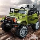 兒童汽車兒童電動車四輪小孩寶寶玩具可坐人超大號遙控越野車 LR9728【Sweet家居】