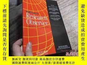 二手書博民逛書店research罕見observer volume 29 num