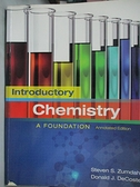【書寶二手書T9/大學理工醫_DH8】Introductory Chemistry A Foundation_Zumdahl,DeCoste