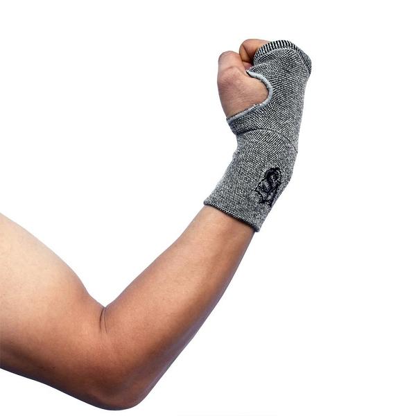 【南紡購物中心】【Vital Salveo 紗比優】防護鍺 護 掌 腕-單支入(竹炭+鍺纖維/遠紅外線-台灣製造)