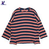 【春夏新品】American Bluedeer - 寬鬆條針織衫(特價)  春秋新款