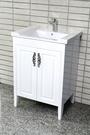 【台灣吉田】LOP-760 60cm 發泡仿古式浴櫃 浴櫃組