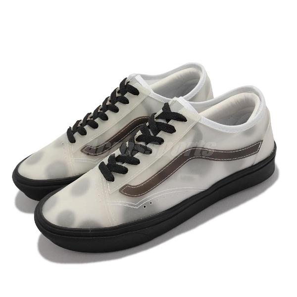 Vans Comfycush Slip-Sk 白 黑 點點 半透明 透視 女鞋 休閒鞋【ACS】 VN0A4P3E2RB