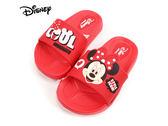 EMMA 商城 迪士尼Disney 米妮COOL 兒童輕量防水拖鞋童鞋紅色24 29 號