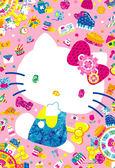 【拼圖總動員 PUZZLE STORY】繽紛kitty PuzzleStory/三麗鷗/300P/內附寶石貼紙