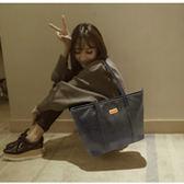 女包包時尚手提包韓版學生單肩大包大容量百搭簡約托特包 祕密盒子