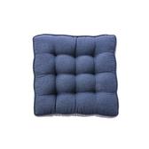 HOLA素色雅織雙色胖胖墊50x50x8cm靛藍