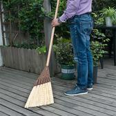硬毛掃把 戶外庭院花園掃落葉樹葉大掃帚干濕兩用塑料笤帚