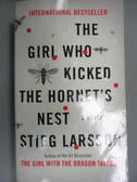 【書寶二手書T4/原文小說_NND】The Girl Who Kicked the Hornet s Nest_Stieg Larsson