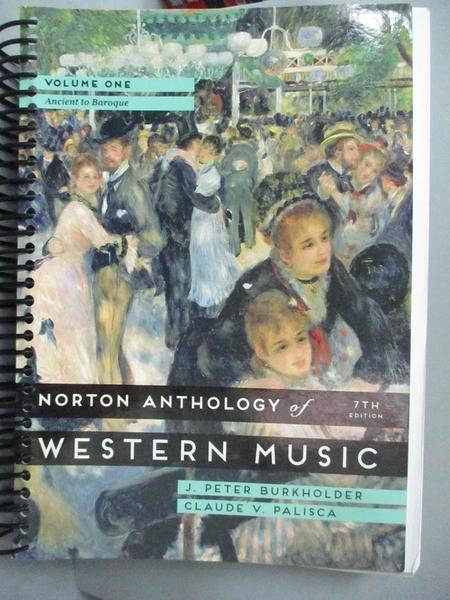 【書寶二手書T1/音樂_WFT】Norton Anthology of Western Music: Ancient to Baroque