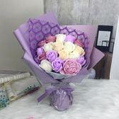 520情人節禮物送男女友花束母親節禮物實用送媽媽玫瑰香皂花禮盒igo   酷男精品館