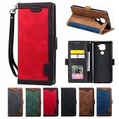小米11 紅米Note9 紅米Note9 Pro 復古撞色 手機皮套 掀蓋殼 插卡 支架 掛繩 內軟殼