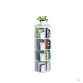 書櫃 創意旋轉書架360度書櫃現代簡約置物架兒童轉角桌上簡易學生落地  MKS  瑪麗蘇