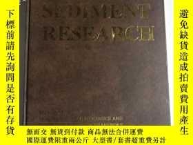 二手書博民逛書店SEDIMENT罕見RESEARCH (外文原版 泥沙研究) 4