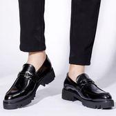 男皮鞋 正裝皮鞋 新款男士鞋子休閒男鞋商務男鞋子《印象精品》q1291