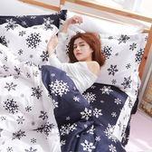 [SN]#L-UAA027#細磨毛天絲絨5x6.2尺雙人舖棉床罩+鋪棉兩用被套+枕套+抱枕/五件組-台灣製