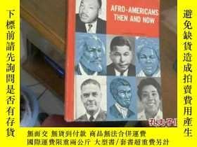 二手書博民逛書店AFRO-AMERICANS,THEN罕見AND NOW 美洲黑人的過去與現在Y16184 CALIFORNI
