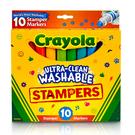 美國Crayola繪兒樂 可水洗印章色筆10色 麗翔親子館