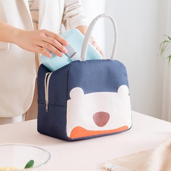熊熊便當袋 保溫袋 保冷袋 保溫便當袋 簡約便當袋 野餐袋【RB592】