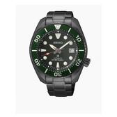 SEIKO 精工 PROSPEX 系列相撲廣告款潛水機械錶海底森林黑色限定款 6R35-01A0G(SPB195J1) 綠x黑