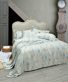 【WENTEX】Blossom 天絲™加大四件式床包組