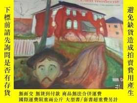 二手書博民逛書店2手英文罕見Edvard Munch L oeil Modern