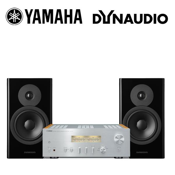 YAMAHA 山葉 A-S1100 +Dynaudio Evoke 20 書架音響組合【公司貨+免運】