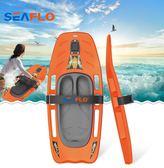 seaflo槳板沖浪板進口料sup漿板劃水滑水板自由泳打水板浮   圖拉斯3C百貨