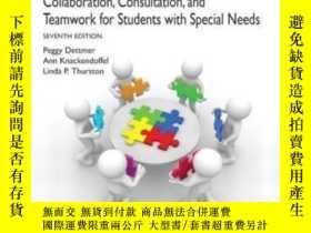 二手書博民逛書店Collaboration罕見Consultation And Teamwork For Students Wit
