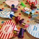 【發現。好貨】生日派對兒童派對生日吹笛 吹哨11cm大號生日吹龍喇叭兒童玩具派對用品4入一包