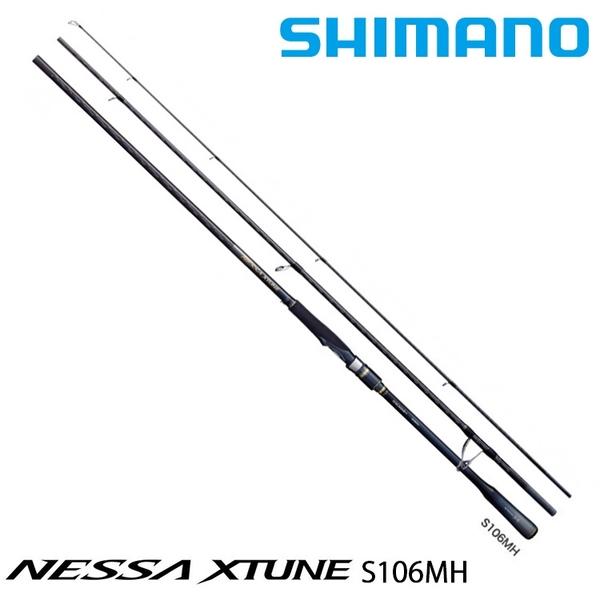 漁拓釣具 SHIMANO 20 NESSA XTUNE S106MH [岸拋路亞竿]