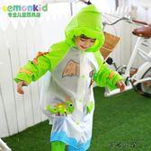 兒童雨披帶書包位寶寶雨衣