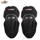 摩托車護具男碳纖維騎行機車越野護膝護肘防摔騎士裝備四件套