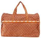WAYNA 摺疊大旅行袋 - 立體三柱 橘色