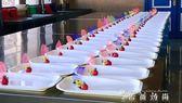 蟬翼葉亞馬遜蟬葉每包100片創意盤飾廚師酒店用品餐廳菜盤頭點綴 igo 薔薇時尚