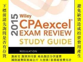 二手書博民逛書店Wiley罕見Cpaexcel Exam Review 2015 Study Guide (january): R